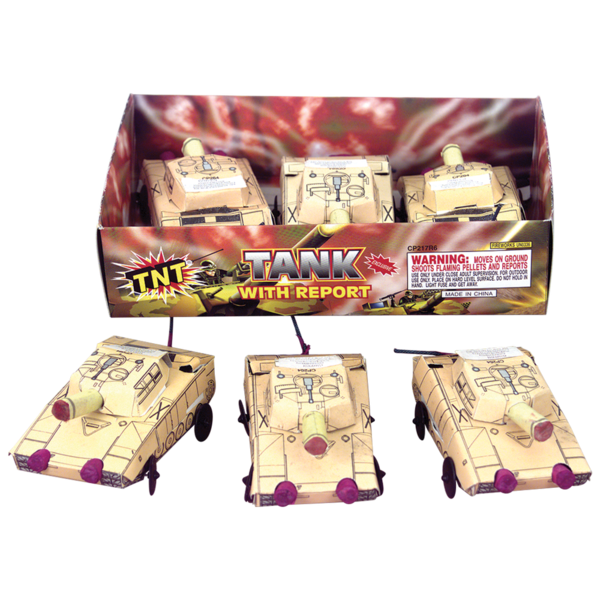 Firework Supercenter M 1 Abrams Tank With Report