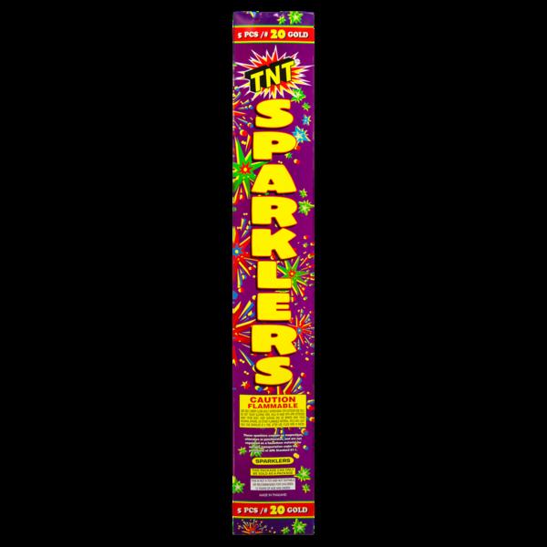 Firework Supercenter #20 Sparkler Gold