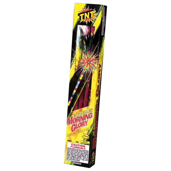 Firework Supercenter Morning Glory Torch 14 Inch