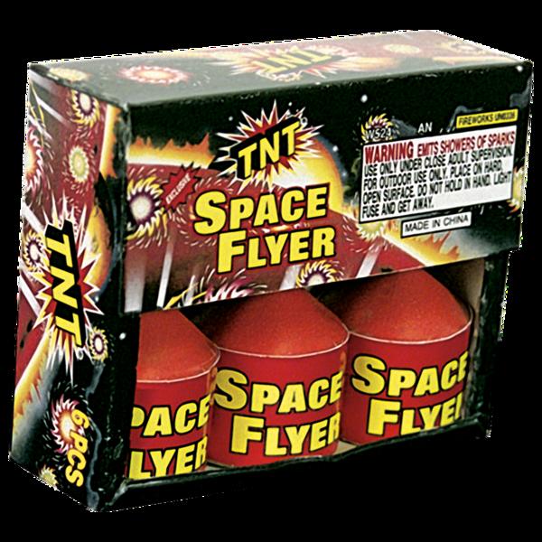 Firework Supercenter Tnt Space Flyer