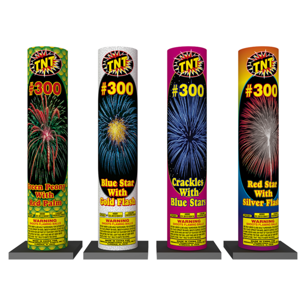 Firework Reloadable #300 Assorted