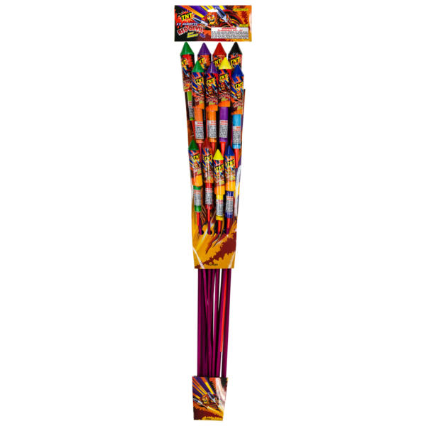 Firework Supercenter Red Devil 12 Assorted Rockets
