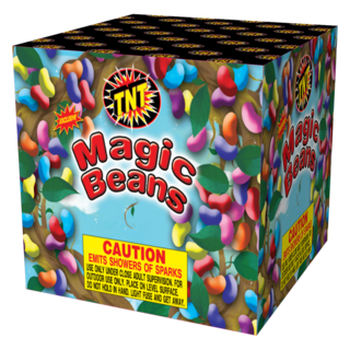 Firework Fountain Magic Beans