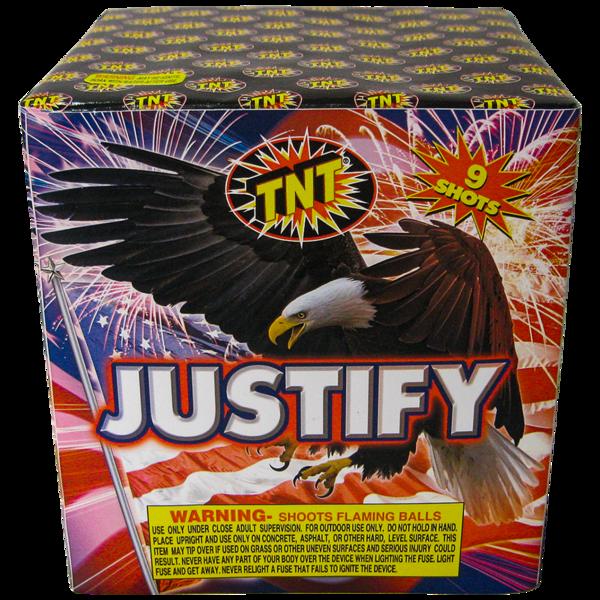Firework Aerial Finale Justify