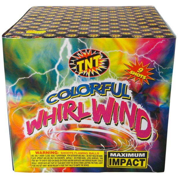 500 Gram Firework Aerial Finale Colorful Whirlwind