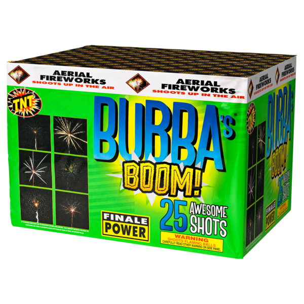 500 Gram Firework Aerial Finale Bubba's Boom