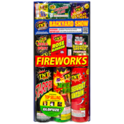 Firework Assortment Backyard Show Thumbnail 1