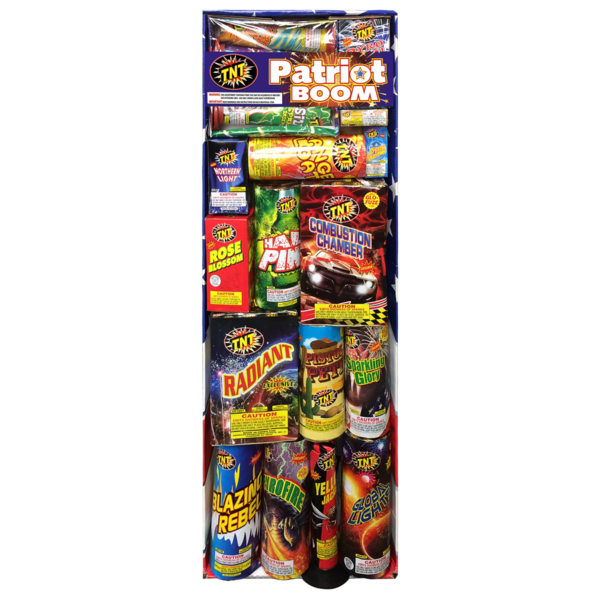Firework Assortment Patriot Boom