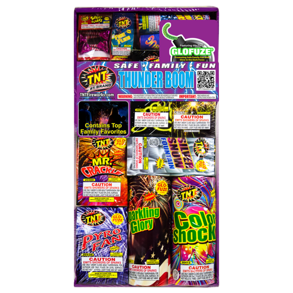 Firework Assortment Thunder Boom