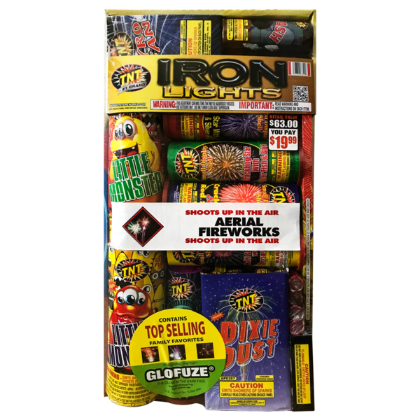 Firework Assortment Iron Lights