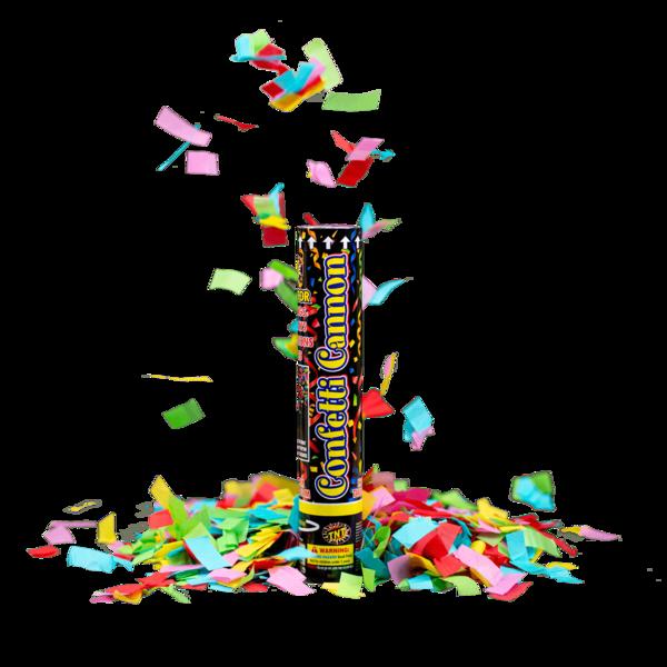 Firework Novelty Sparkler Celebration Confetti Cannon