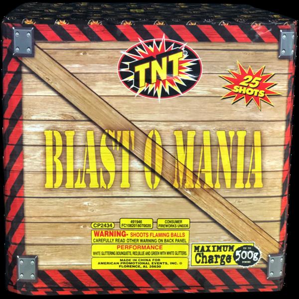 500 Gram Firework Aerial Finale Blast O Mania