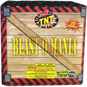 500 Gram Firework Aerial Finale Blast O Mania Thumbnail 1