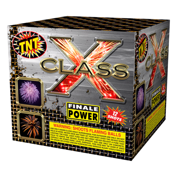 500 Gram Firework Aerial Finale Class X