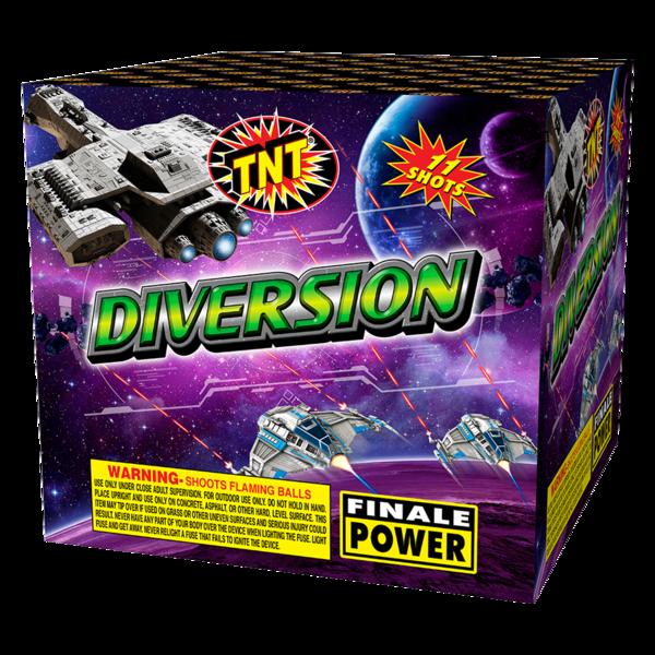 500 Gram Firework Aerial Finale Diversion