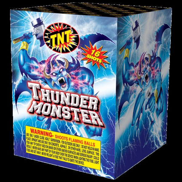 Firework Aerial Finale Thunder Monster