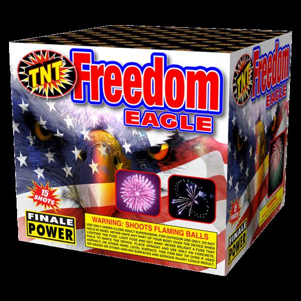 500 Gram Firework Aerial Finale Freedom Eagle