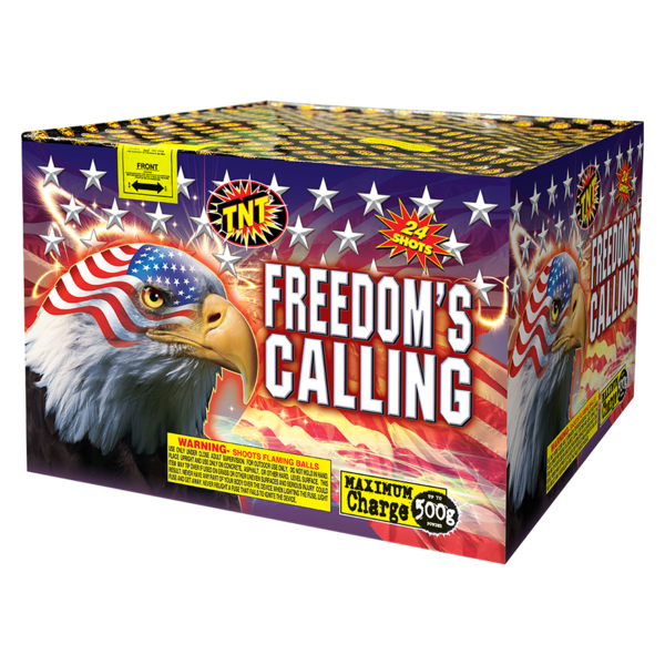 500 Gram Firework Aerial Finale Freedom's Calling