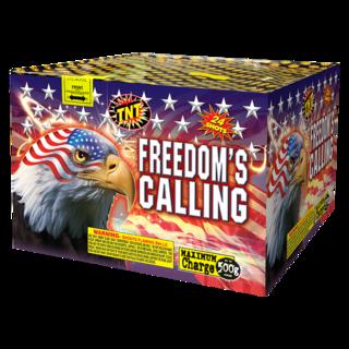 500 Gram Firework Aerial Finale Freedom's Calling