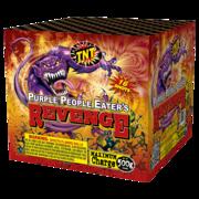 500 Gram Firework Aerial Finale Purple People Eater's Revenge Thumbnail 1