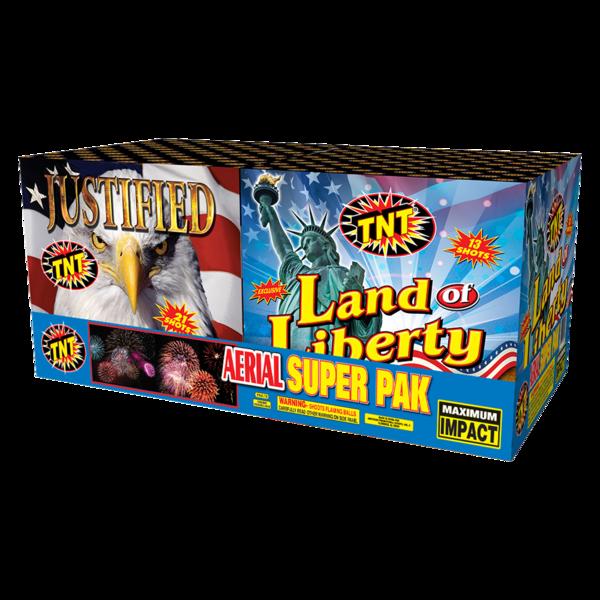 500 Gram Firework Aerial Finale Aerial Super Pak