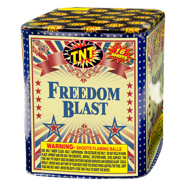 Firework Aerial Finale Freedom Blast
