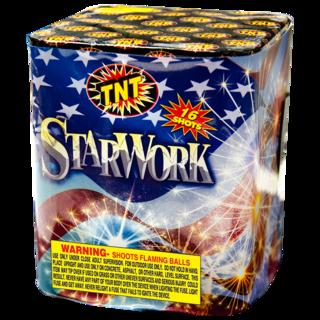 Firework Aerial Finale Starwork