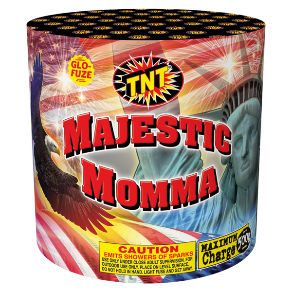 500 Gram Firework Fountain Majestic Momma