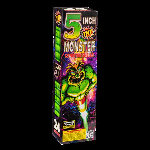 500 Gram Firework Reloadable Monster 5 Inch Canister Shells