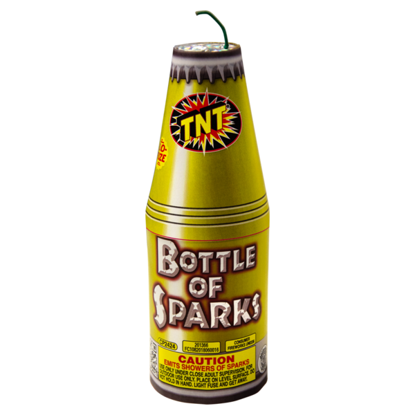 Firework Fountain Bottle Of Sparks