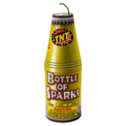 Firework Fountain Bottle Of Sparks Thumbnail 1