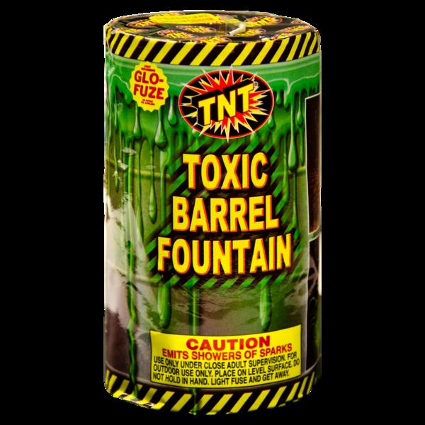 Firework Fountain Toxic Barrel Fountain