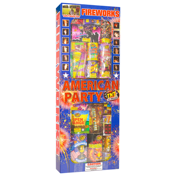 Firework Assortment American Party