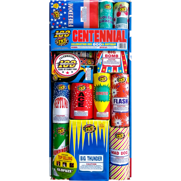 Firework Assortment Centennial   Safe & Sane