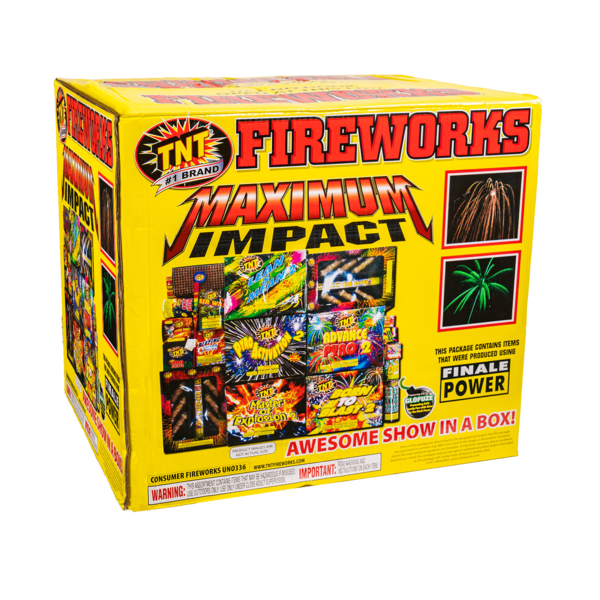 Firework Assortment Maximum Impact Box