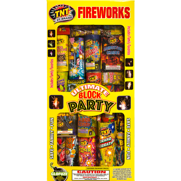 Firework Assortment Ultimate Block Party Usa