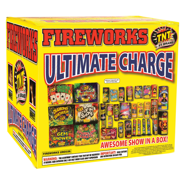Firework Assortment Ultimate Charge Box