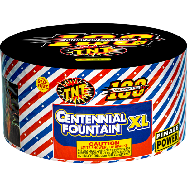 500 Gram Firework Fountain Centennial Fountain Xl