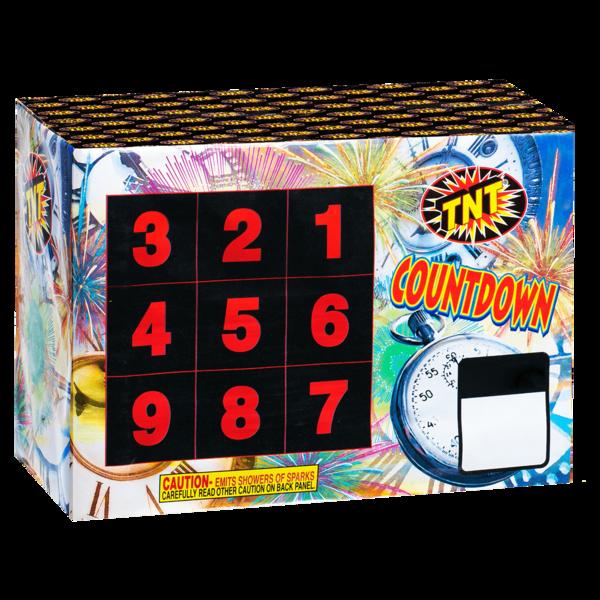 Firework Fountain Countdown