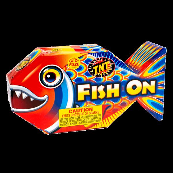 Firework Fountain Fish On