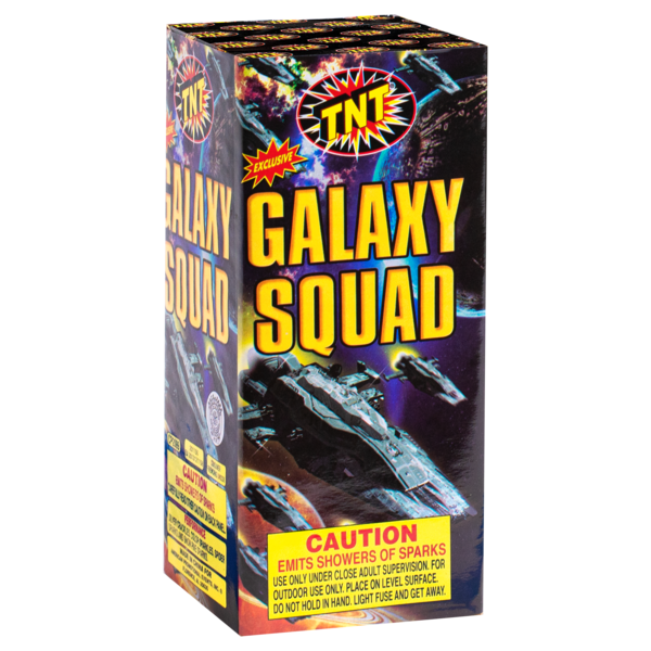 Firework Fountain Galaxy Squad