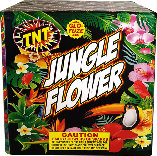 Firework Fountain Jungle Flower