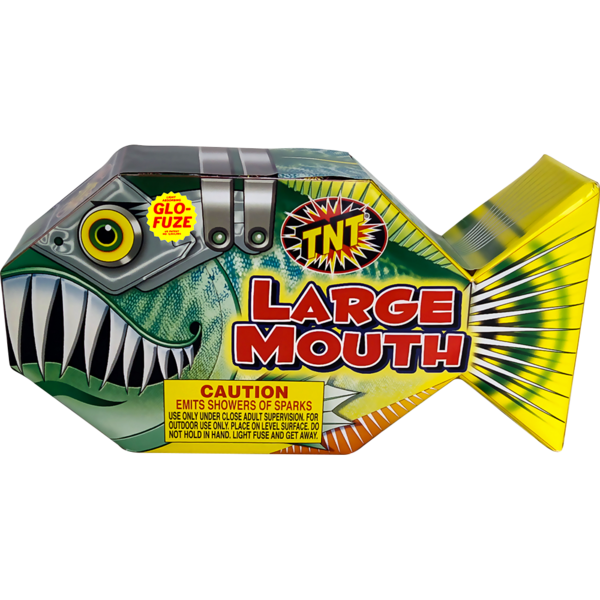 Firework Fountain Large Mouth