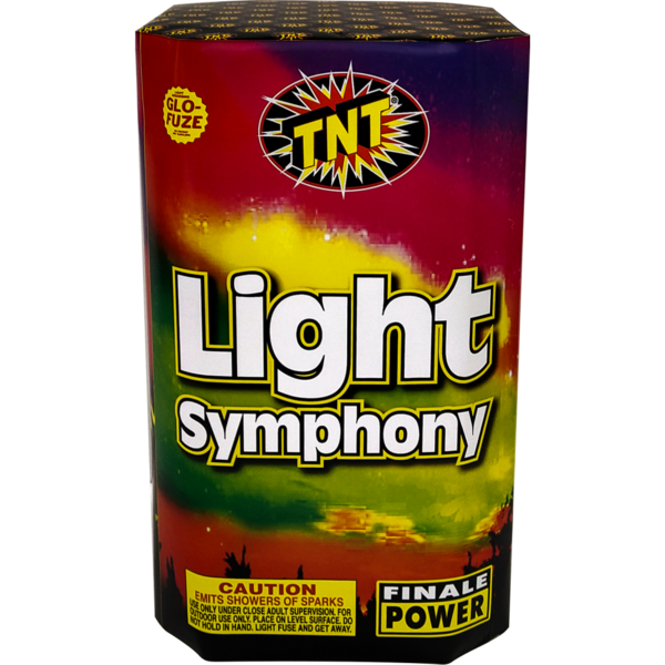 500 Gram Firework Fountain Light Symphony