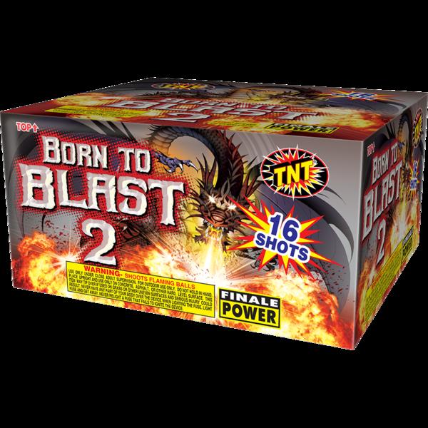 500 Gram Firework Aerial Finale Born To Blast 2  18 Shot