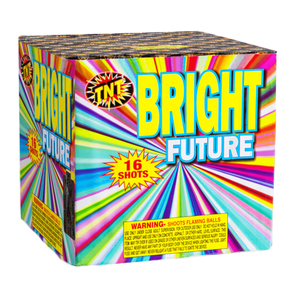500 Gram Firework Supercenter Bright Future   16 Shot