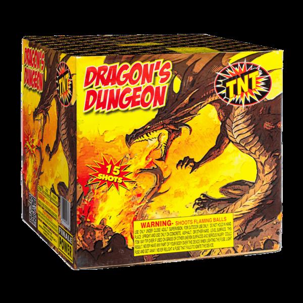 500 Gram Firework Supercenter Dragon's Dungeon