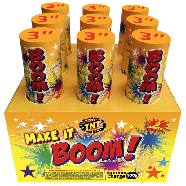500 Gram Firework Aerial Finale Make It Boom!
