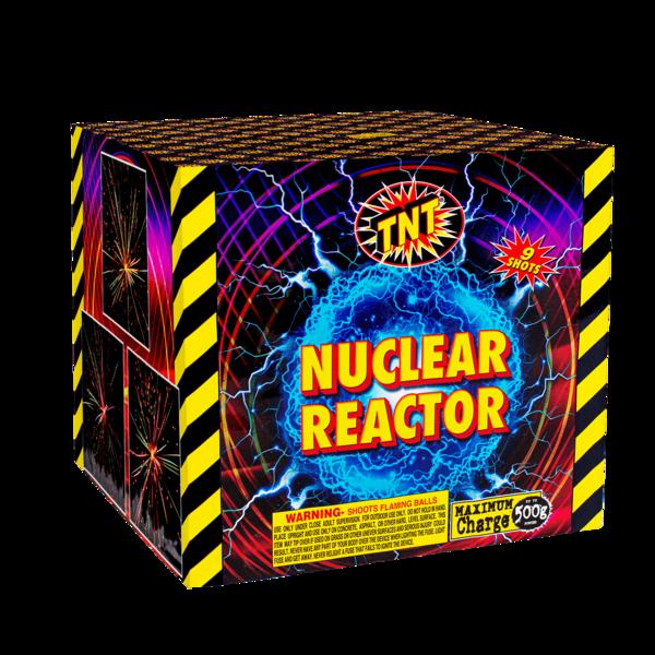 500 Gram Firework Aerial Finale Nuclear Reactor