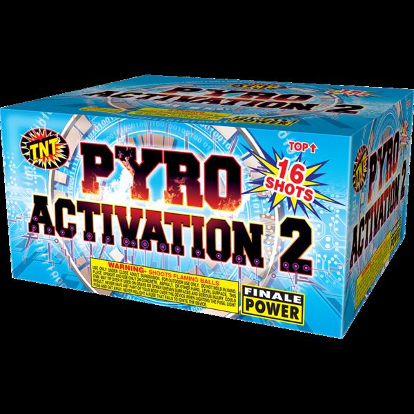 500 Gram Firework Aerial Finale Pyro Activation 2